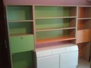Παιδικό δωμάτιο πράσινο- πορτοκαλί