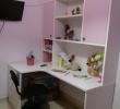 Παιδικό δωμάτιο άσπρο-ροζ