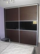 Ντουλάπα με συρώμενες πόρτες βέγγε