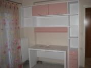Παιδική βιβλιοθήκη λακαριστή ροζ