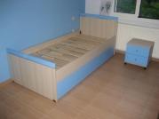 Παιδικό δωμάτιο γαλάζιο